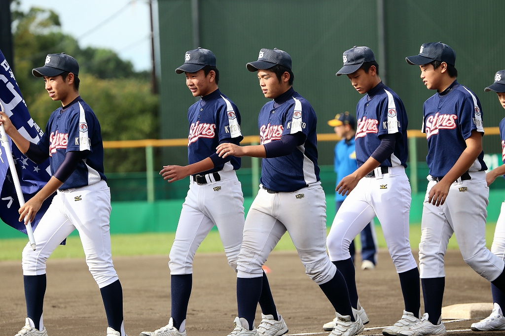 第1回日本少年野球マツダボール旗争奪3年生大会開会式_a0170082_19403772.jpg