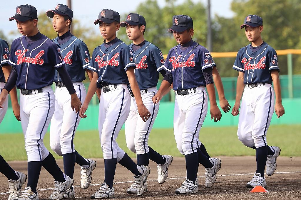 第1回日本少年野球マツダボール旗争奪3年生大会開会式_a0170082_19431839.jpg
