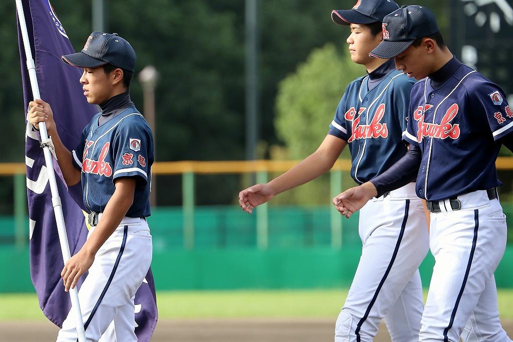 第1回日本少年野球マツダボール旗争奪3年生大会開会式_a0170082_19435919.jpg