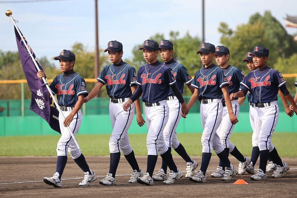 第1回日本少年野球マツダボール旗争奪3年生大会開会式_a0170082_1943858.jpg