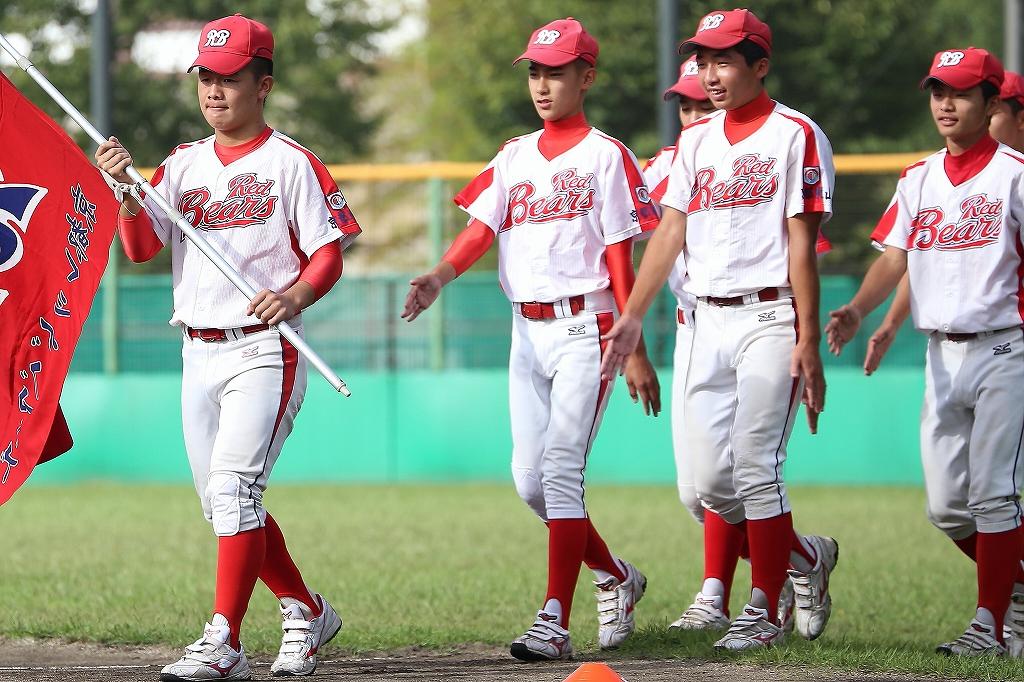 第1回日本少年野球マツダボール旗争奪3年生大会開会式_a0170082_19441660.jpg