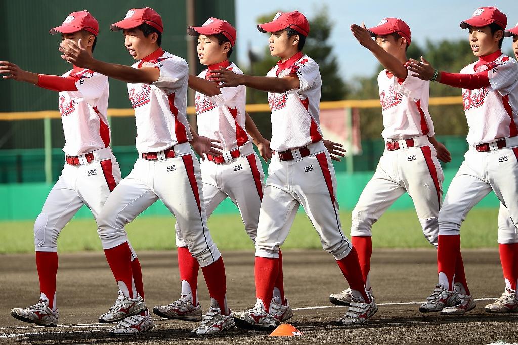 第1回日本少年野球マツダボール旗争奪3年生大会開会式_a0170082_1944405.jpg