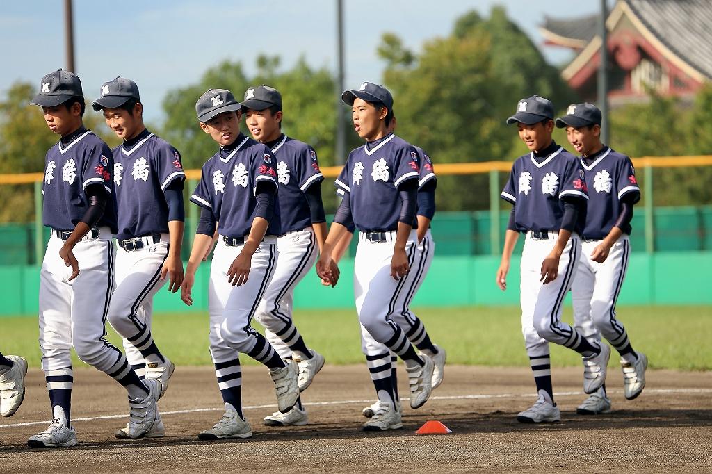 第1回日本少年野球マツダボール旗争奪3年生大会開会式_a0170082_1945587.jpg