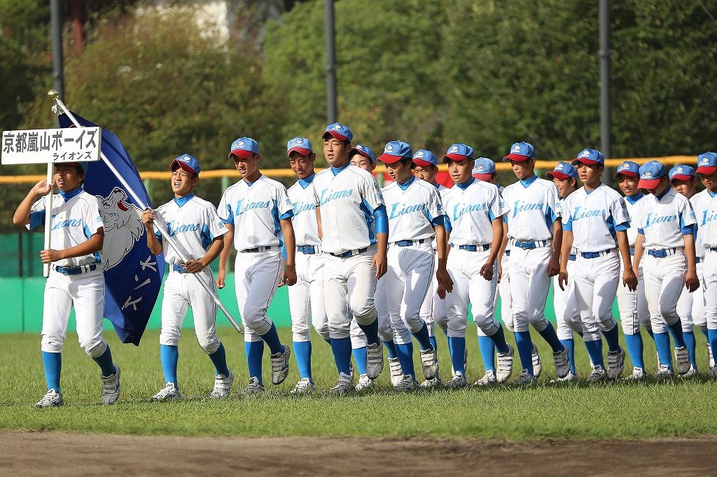 第1回日本少年野球マツダボール旗争奪3年生大会開会式_a0170082_19463999.jpg