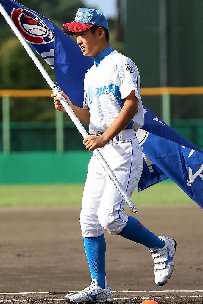 第1回日本少年野球マツダボール旗争奪3年生大会開会式_a0170082_19471051.jpg