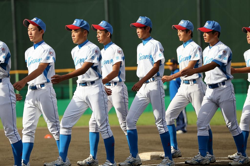 第1回日本少年野球マツダボール旗争奪3年生大会開会式_a0170082_1947493.jpg