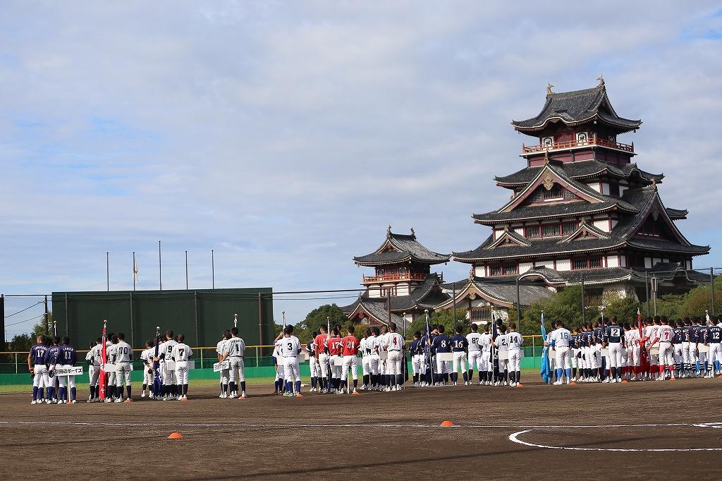 第1回日本少年野球マツダボール旗争奪3年生大会開会式_a0170082_19494694.jpg