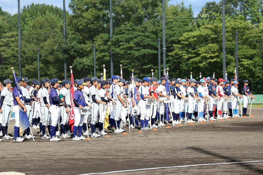 第1回日本少年野球マツダボール旗争奪3年生大会開会式_a0170082_19504264.jpg