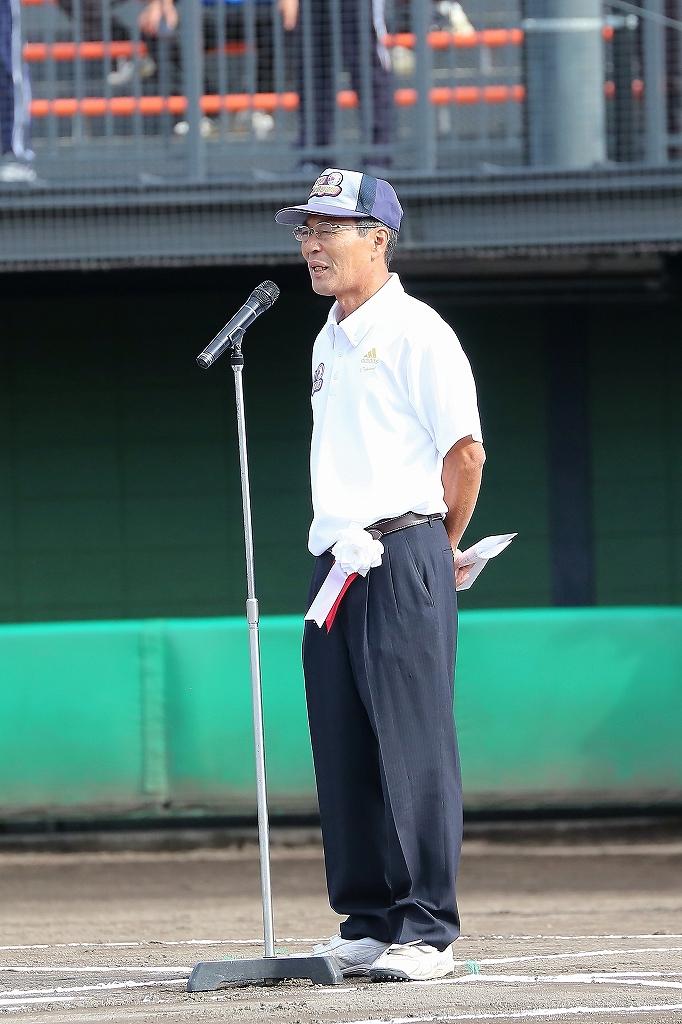 第1回日本少年野球マツダボール旗争奪3年生大会開会式_a0170082_19505594.jpg