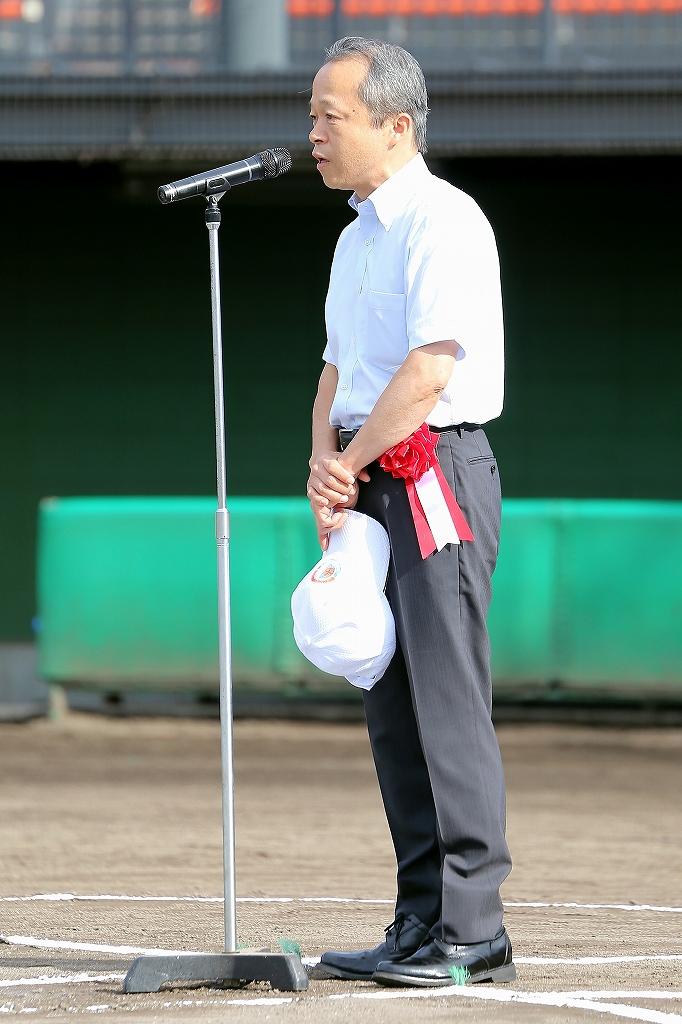 第1回日本少年野球マツダボール旗争奪3年生大会開会式_a0170082_19515633.jpg