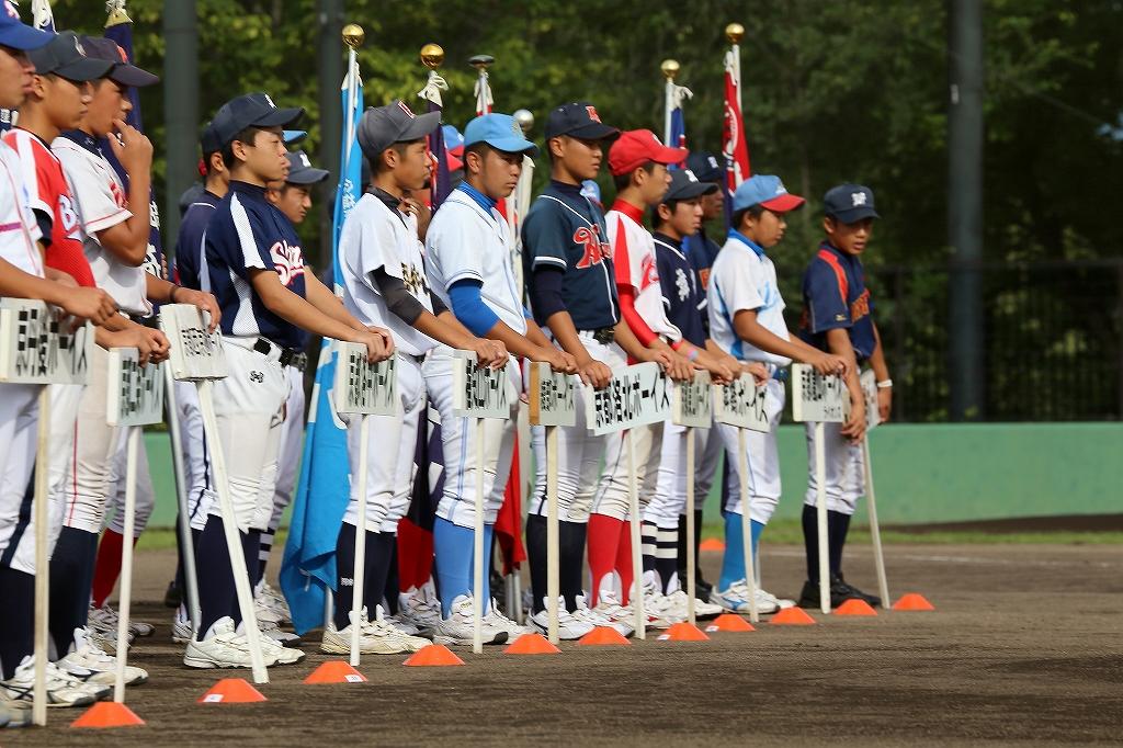 第1回日本少年野球マツダボール旗争奪3年生大会開会式_a0170082_1951842.jpg