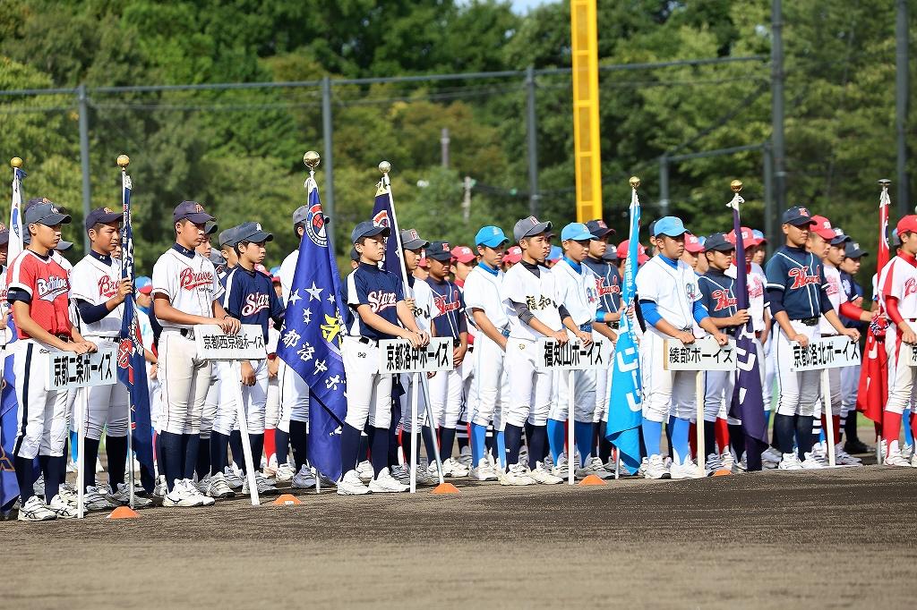 第1回日本少年野球マツダボール旗争奪3年生大会開会式_a0170082_19521041.jpg