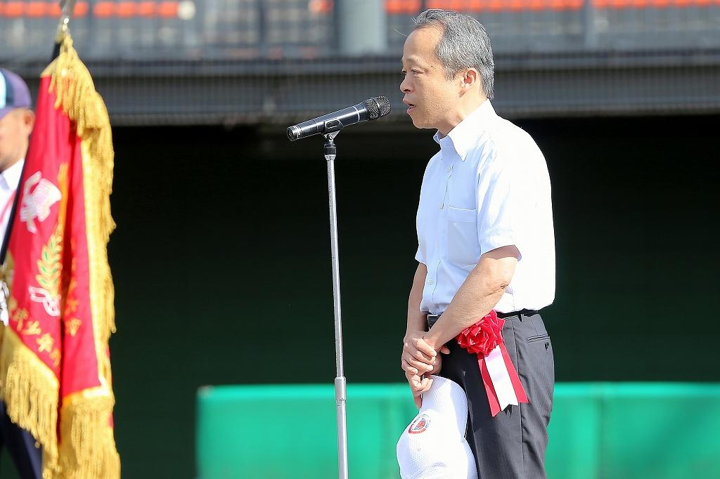 第1回日本少年野球マツダボール旗争奪3年生大会開会式_a0170082_19523420.jpg
