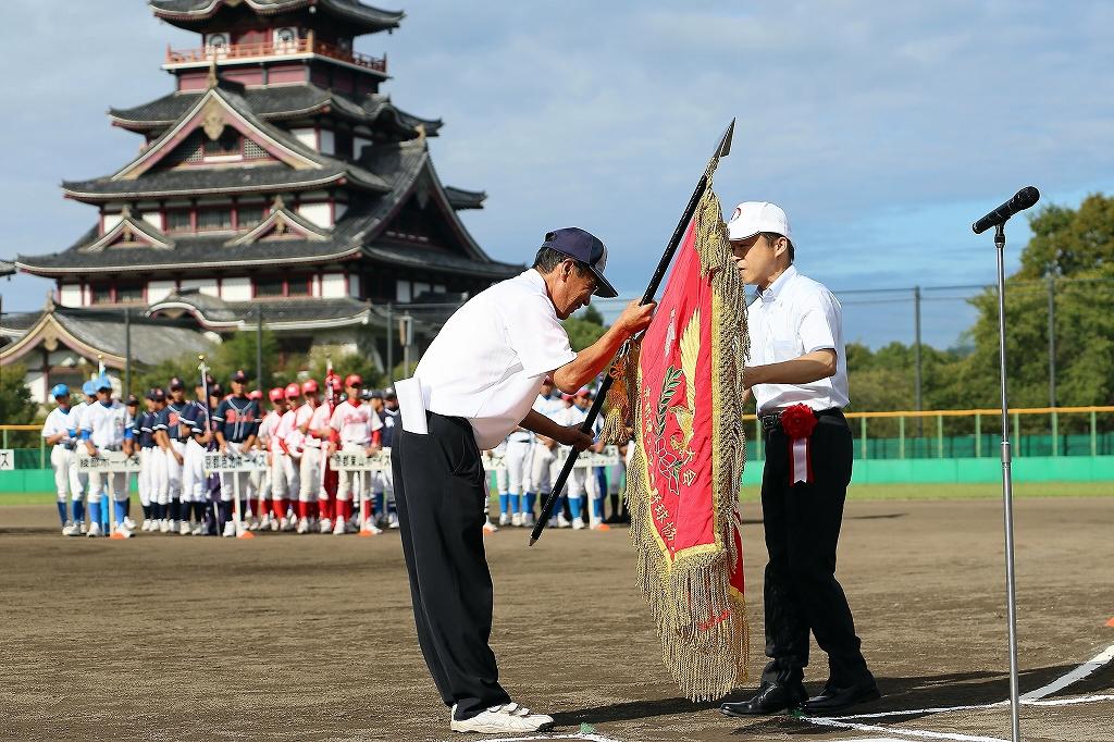 第1回日本少年野球マツダボール旗争奪3年生大会開会式_a0170082_19533030.jpg