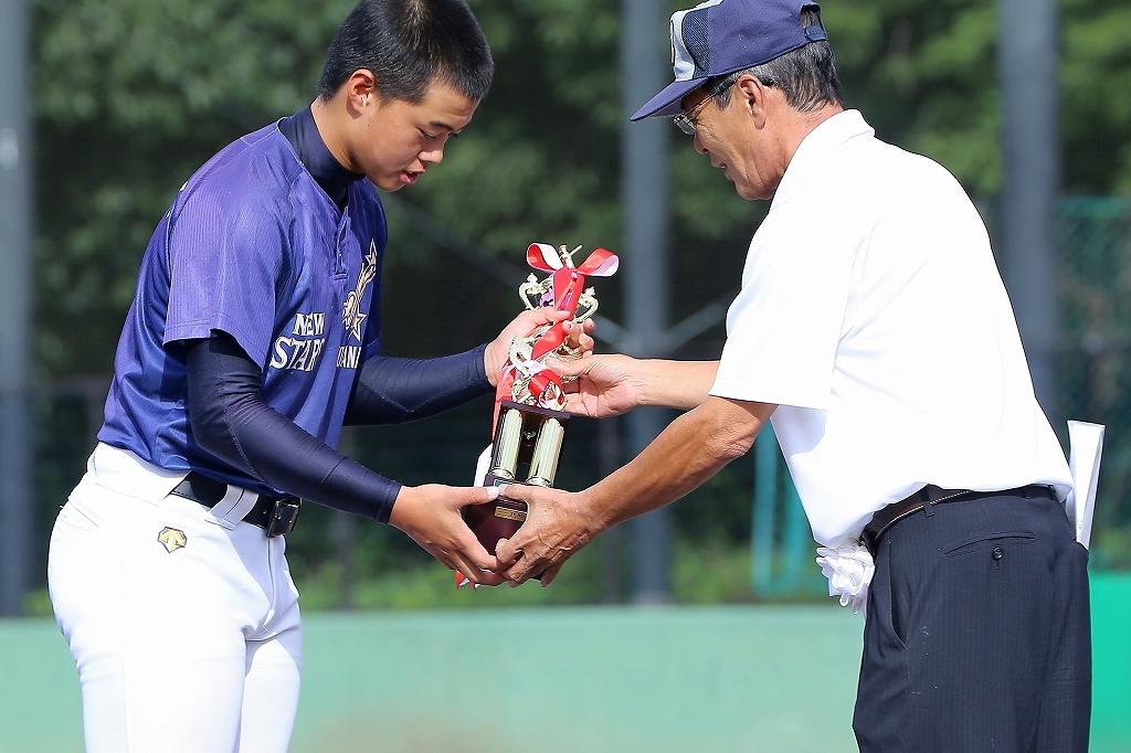 第1回日本少年野球マツダボール旗争奪3年生大会開会式_a0170082_19541790.jpg