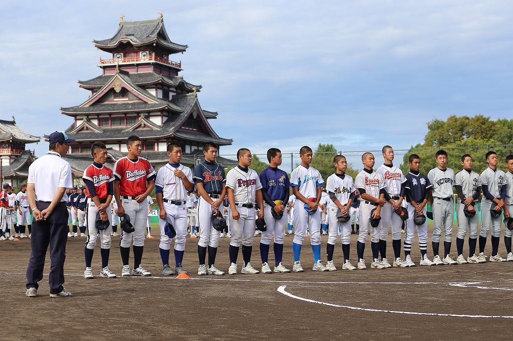 第1回日本少年野球マツダボール旗争奪3年生大会開会式_a0170082_1955564.jpg