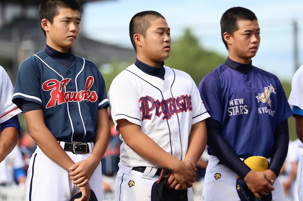 第1回日本少年野球マツダボール旗争奪3年生大会開会式_a0170082_19563248.jpg