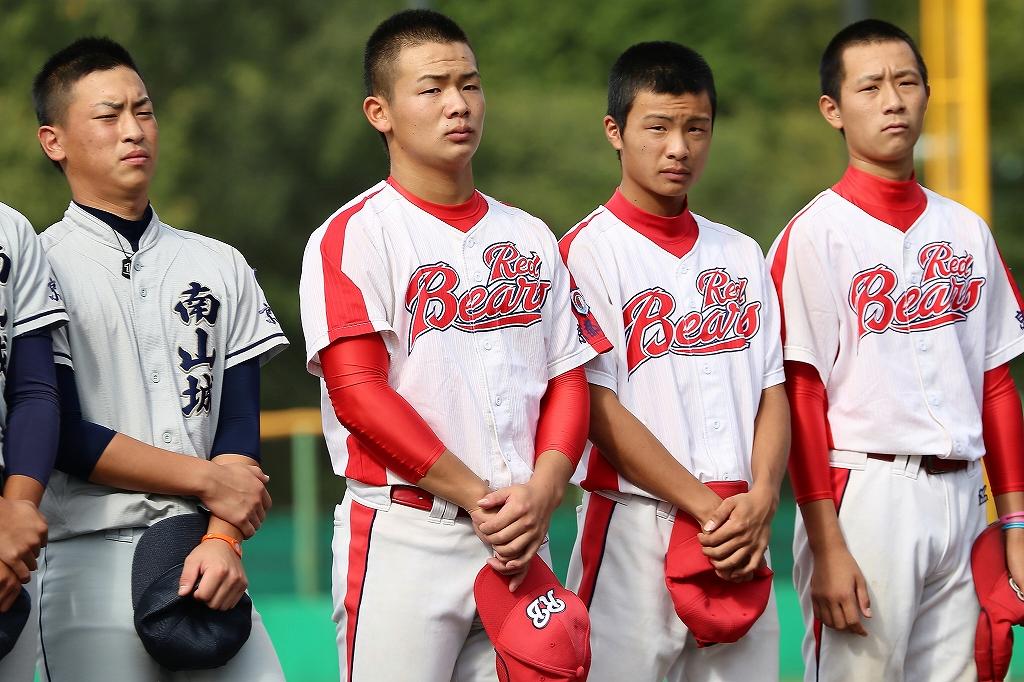第1回日本少年野球マツダボール旗争奪3年生大会開会式_a0170082_19572660.jpg