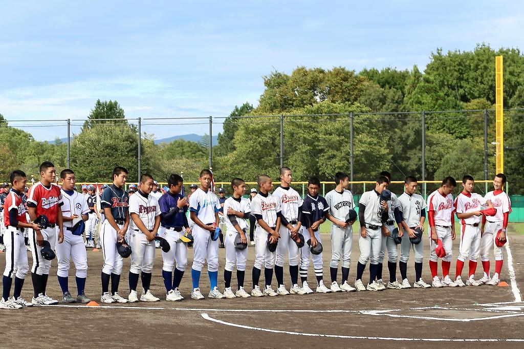 第1回日本少年野球マツダボール旗争奪3年生大会開会式_a0170082_19573691.jpg