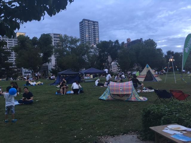 中之島公園でクラフトビールピクニック。_a0050302_12272598.jpg