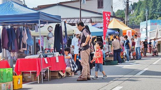 秋シーズンの「毘沙門通り小さな祭り」を再開しました_c0336902_1754024.jpg