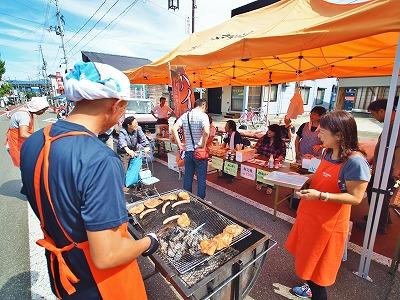 秋シーズンの「毘沙門通り小さな祭り」を再開しました_c0336902_1755579.jpg
