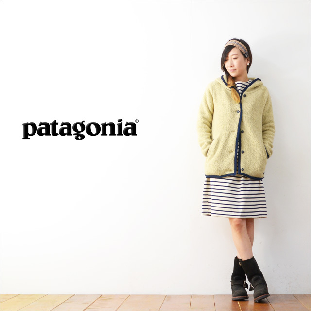 【再入荷】patagonia [パタゴニア正規代理店] WOMEN\'S SHEARLING FLEECE HOODED CARDIGAN [23105] LADY\'S_f0051306_18341904.jpg