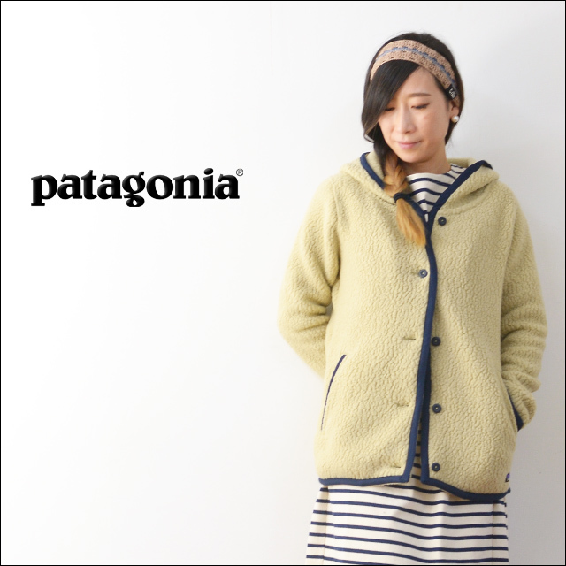 【再入荷】patagonia [パタゴニア正規代理店] WOMEN\'S SHEARLING FLEECE HOODED CARDIGAN [23105] LADY\'S_f0051306_18342030.jpg