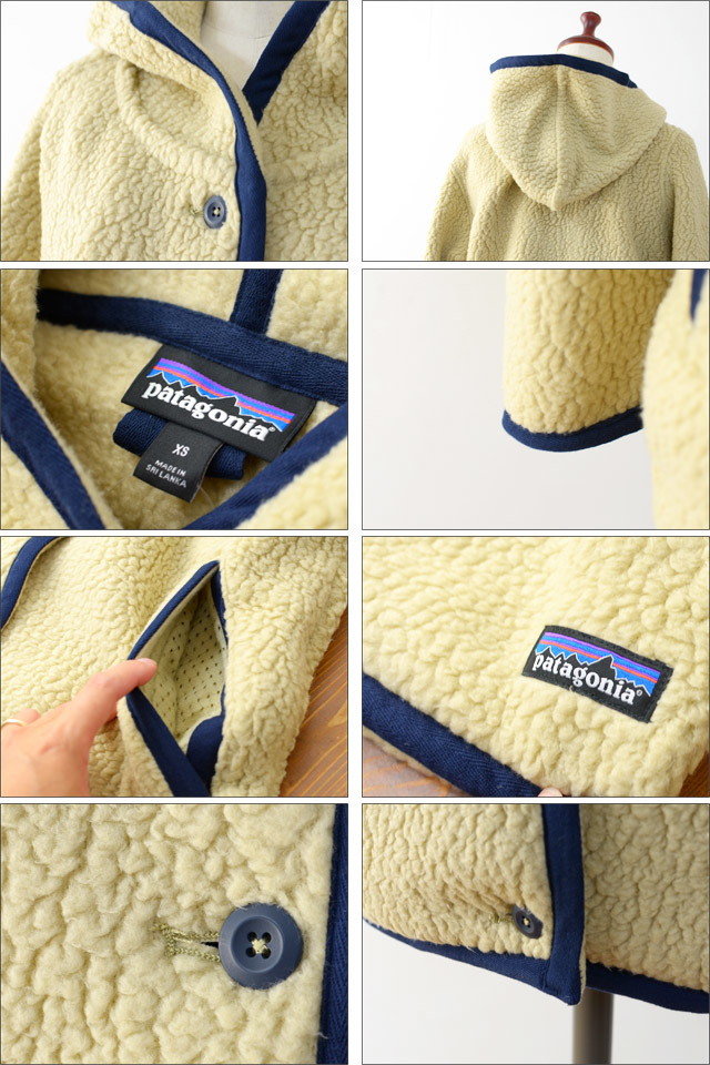 【再入荷】patagonia [パタゴニア正規代理店] WOMEN\'S SHEARLING FLEECE HOODED CARDIGAN [23105] LADY\'S_f0051306_18342033.jpg