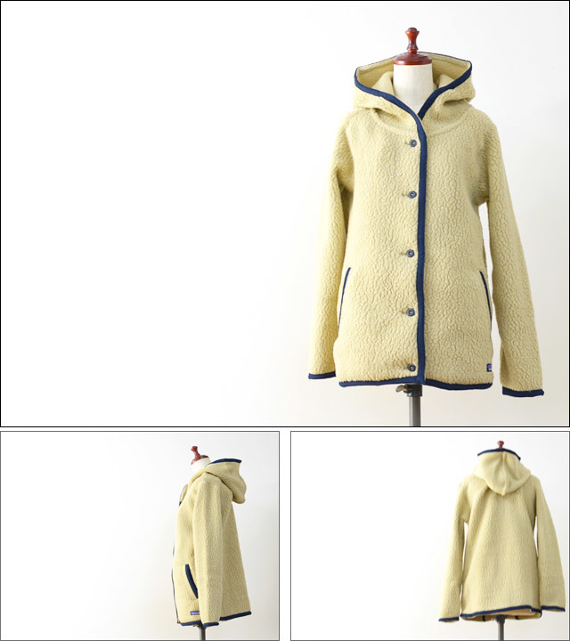 【再入荷】patagonia [パタゴニア正規代理店] WOMEN\'S SHEARLING FLEECE HOODED CARDIGAN [23105] LADY\'S_f0051306_18342054.jpg