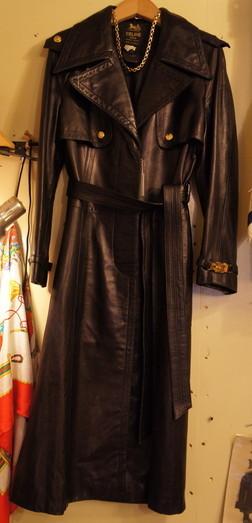 Celine 70~80\'s Leather Coat_f0144612_11234682.jpg