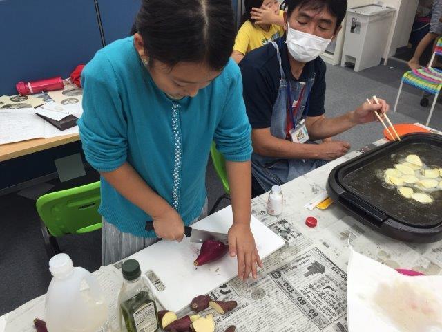 9月21日 Snack cooking_c0315913_13413246.jpg