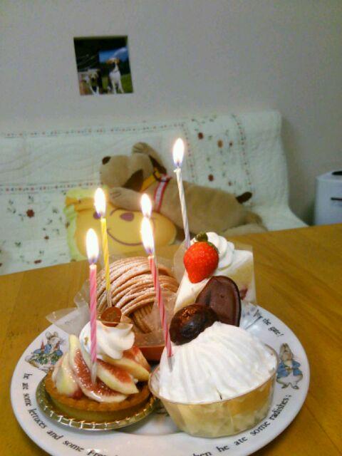 """ジゼル~(*\'(ェ)\')ノ""""ii ♪誕生日おめでとう♪_b0255266_18504699.jpg"""