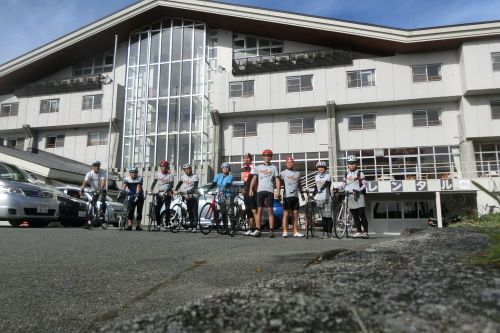 蒜山高原サイクリング (一日目の様子)_b0332867_11214871.jpg