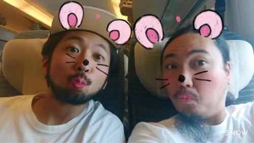 新幹線でヤギに会ったよ♡_d0098986_12372381.jpg