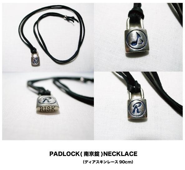 【PADLOCK NECKLACE】再入荷_a0097901_18532398.jpg
