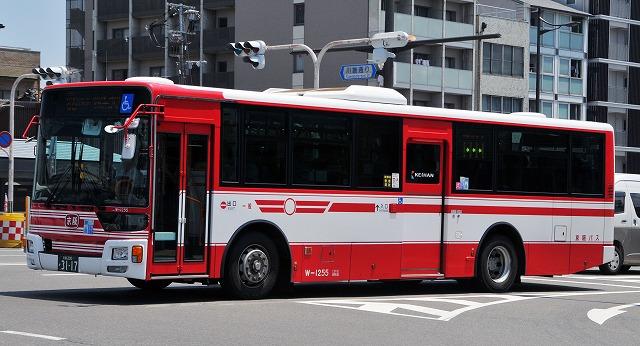 京阪バス~新型エアロスター・ワンステップバス  W-1255_a0164734_2324755.jpg