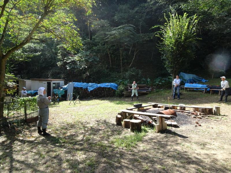 客山ルート整備・・・孝子の森_c0108460_18314319.jpg