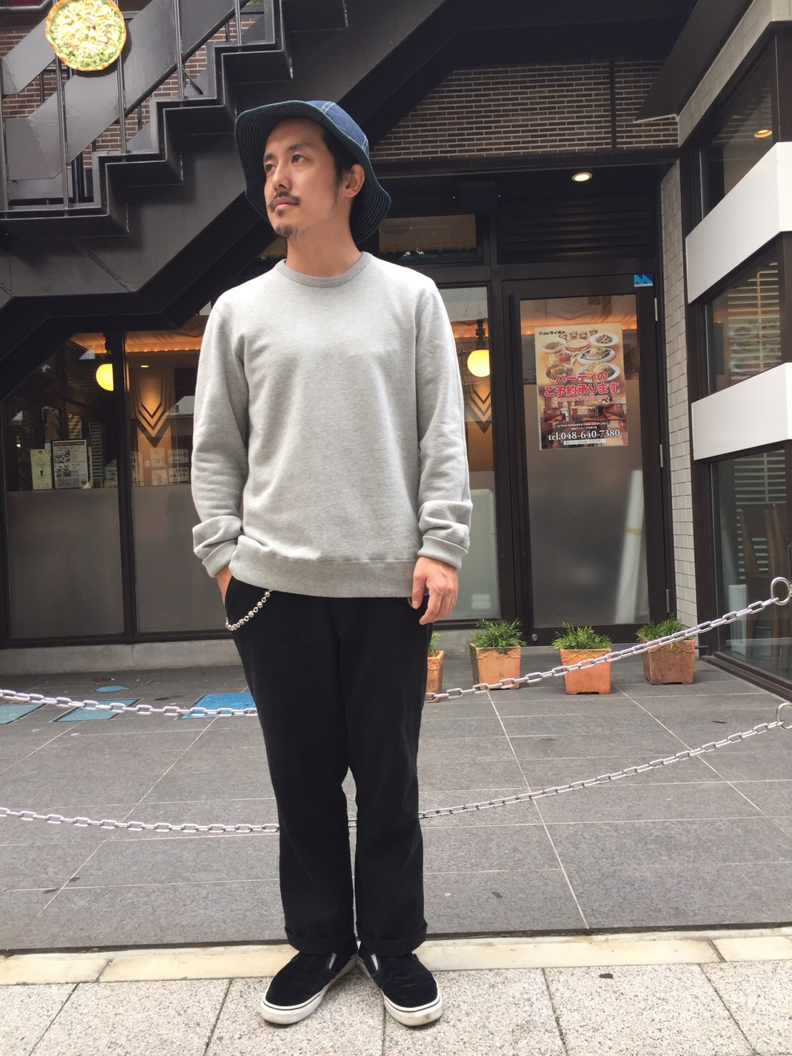 """REIGNING CHAMP Crew-neck Sweat\""_b0121563_1444725.jpg"
