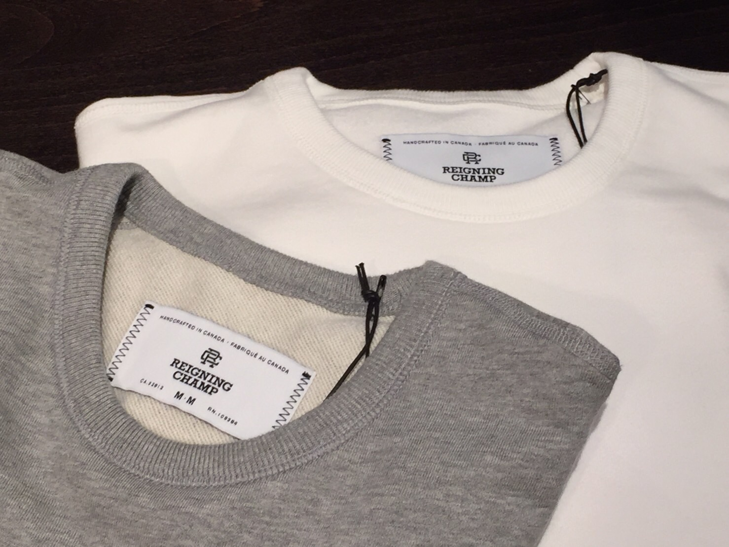 """REIGNING CHAMP Crew-neck Sweat\""_b0121563_16114277.jpg"