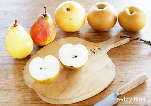 pretty & yummy pears!  かわいい梨いっぱい!_e0253364_15540645.jpg