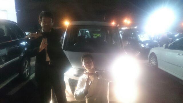 9月28日(水)TOMMYアウトレット★ekワゴン Y様ご成約!パレット S様納車!あゆブログ♪(^^)/☆_b0127002_20181332.jpg