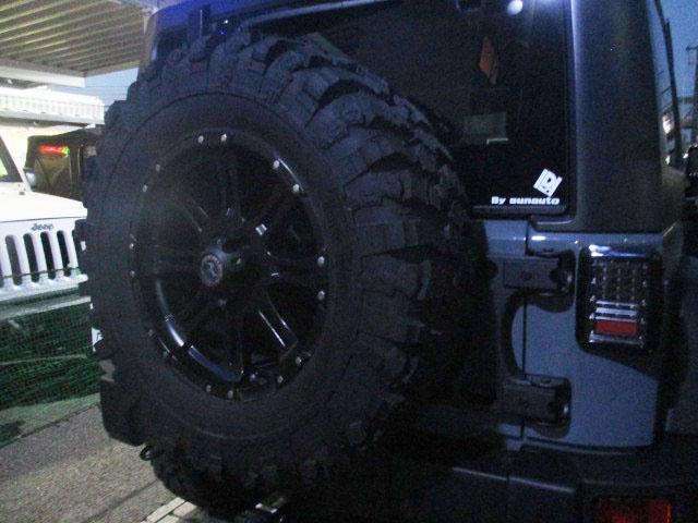 JK ラングラー 背面タイヤ ブラケット 強化品_b0123820_11163149.jpg