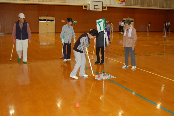 グランドゴルフ交流会☆_d0010630_1093927.jpg