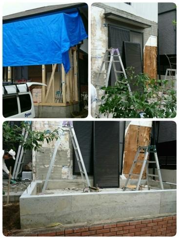 増築工事 始まりました ~K様邸_d0172085_21173379.jpg