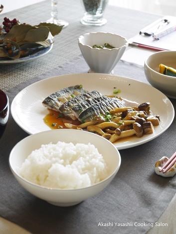 秋刀魚のムニエルLesson1・2_f0361692_16504163.jpg