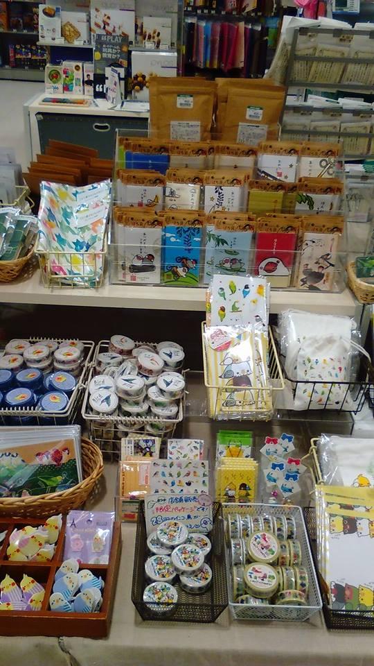 東急ハンズ梅田店 常設ブースのインコと鳥の雑貨展の様子_d0322493_0111375.jpg