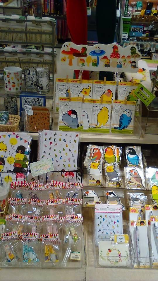 東急ハンズ梅田店 常設ブースのインコと鳥の雑貨展の様子_d0322493_0113031.jpg