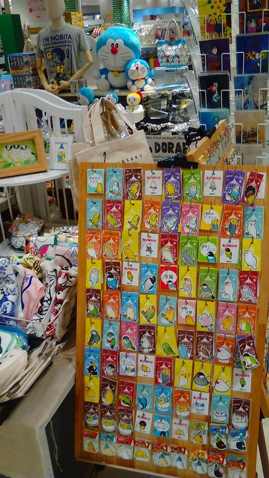 東急ハンズ梅田店 常設ブースのインコと鳥の雑貨展の様子_d0322493_013379.jpg