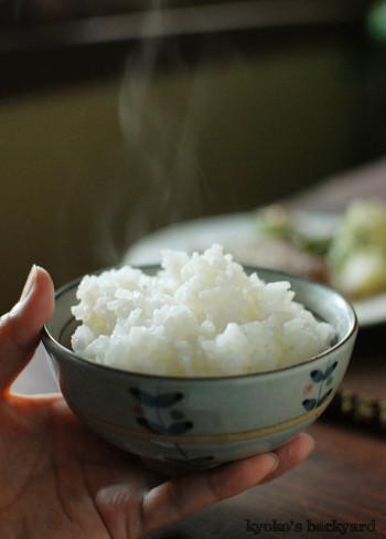 まぐろの照り焼き&美味しい白飯_b0253205_08523384.jpg